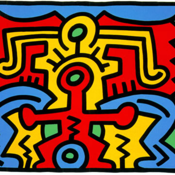 Keith Haring, Growing Suite (No. 5) *SOLD*, 1988