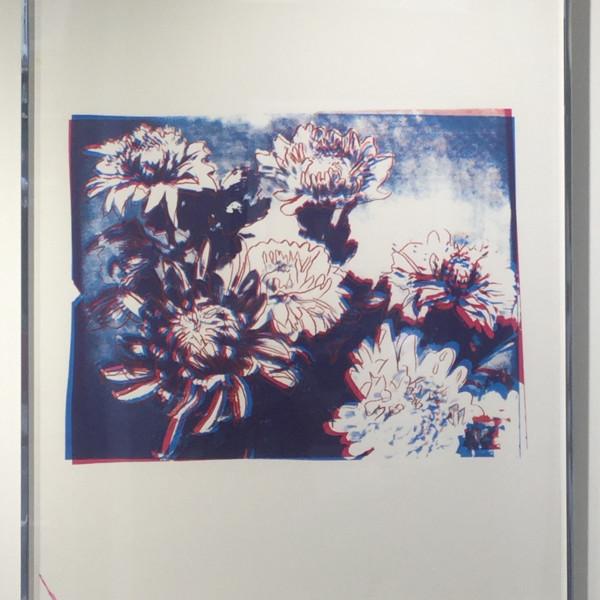 Andy Warhol, Kiku (unique Trial proof), 1983