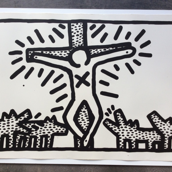 Keith Haring, Untitled number 6, 1982 *SOLD*, 1982