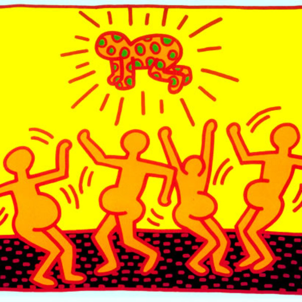 Keith Haring, Fertility Number 1 , 1983