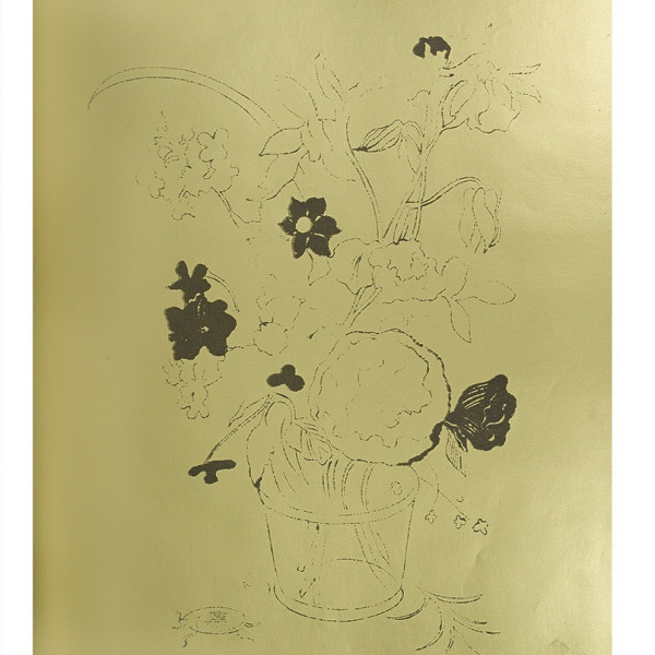 Andy Warhol, A Gold Book, IV.120, 1957