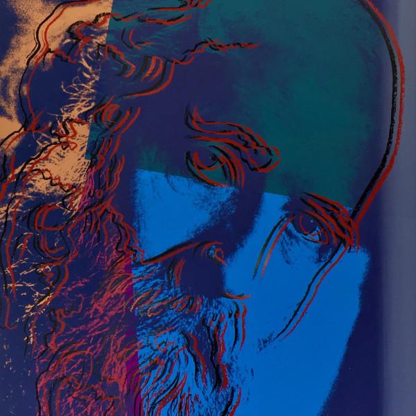 Andy Warhol, Martin Buber *SOLD*, 1980