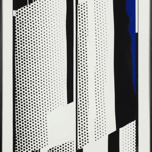 Roy Lichtenstein, Twin Mirrors