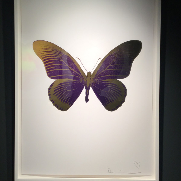 Damien Hirst, The Souls IV (Imperial Purple/Oriental Gold) *SOLD*, 2010