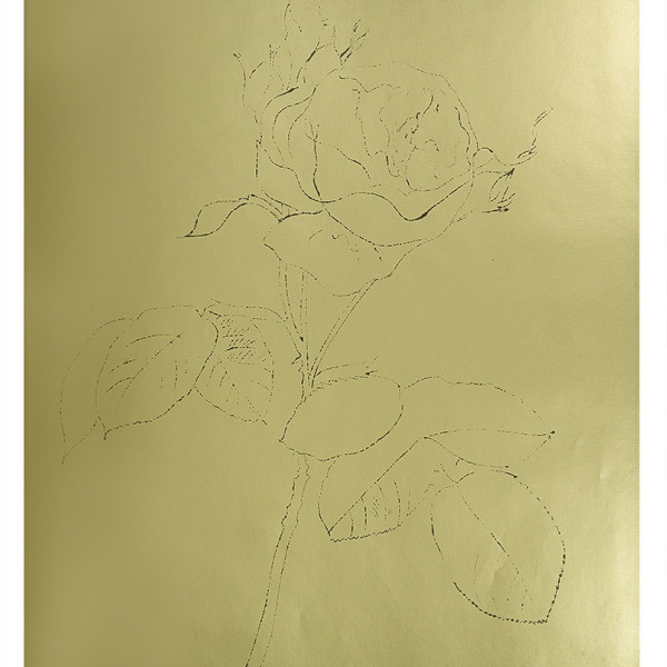 Andy Warhol, A Gold Book, IV.122, 1957