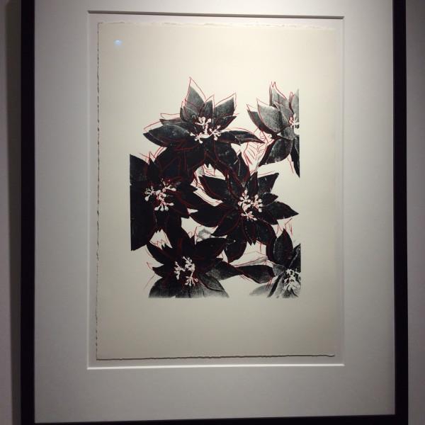 Andy Warhol, Poinsettias (F&S IIIA.51) UNIQUE, 1983