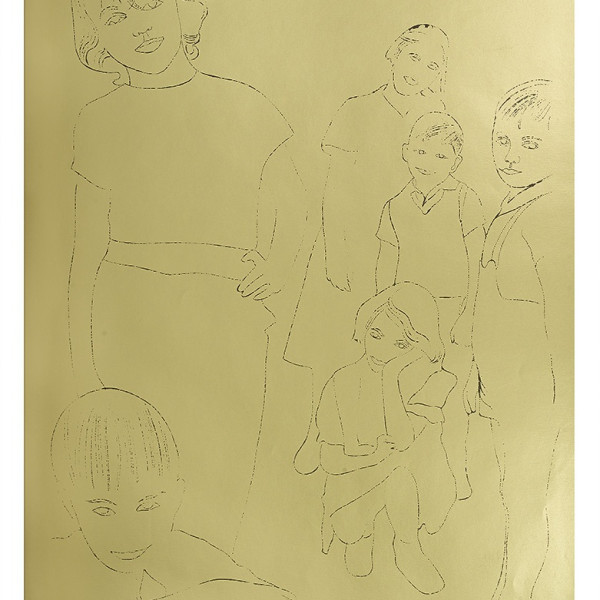 Andy Warhol, A Gold Book, IV.119, 1957