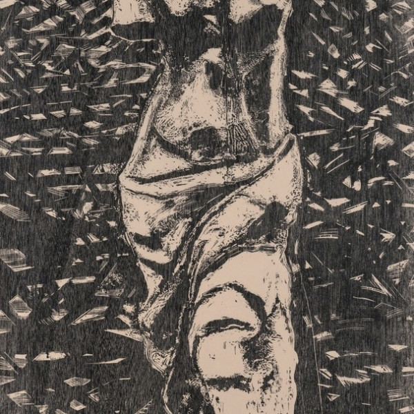 Jim Dine, Black Venus In The Wood *SOLD*, 1983
