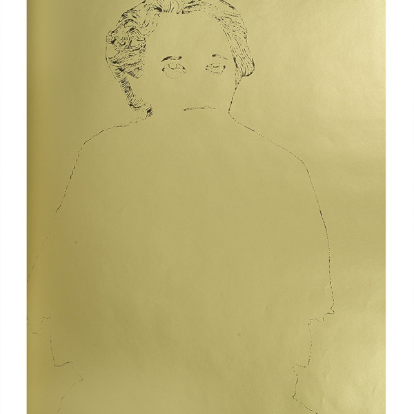 Andy Warhol, A Gold Book, IV.113, 1957