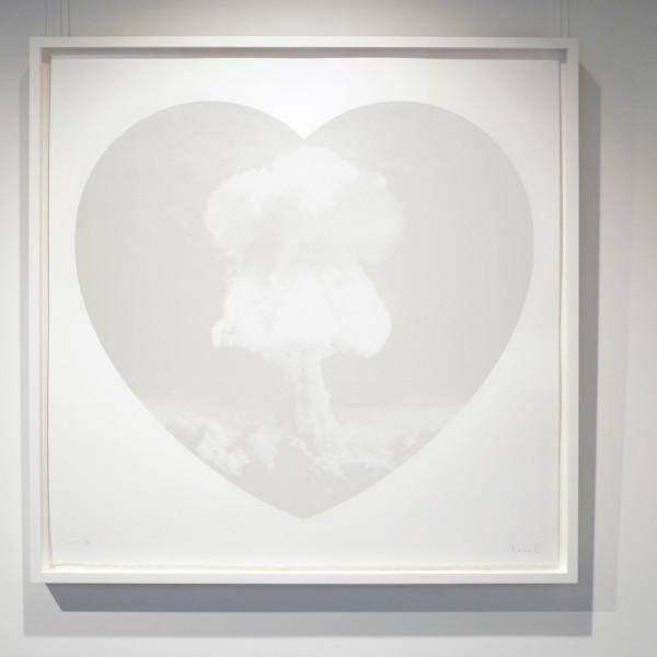 Iain Cadby, Love Bomb Unique (white/white) , 2019