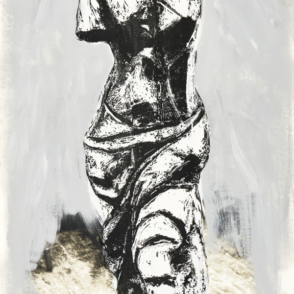 Jim Dine, Nine Views of Winter (IV) *SOLD*, 1985