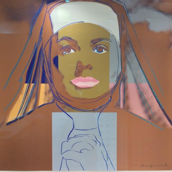 Andy Warhol, Ingrid Bergman The NUN , 1983