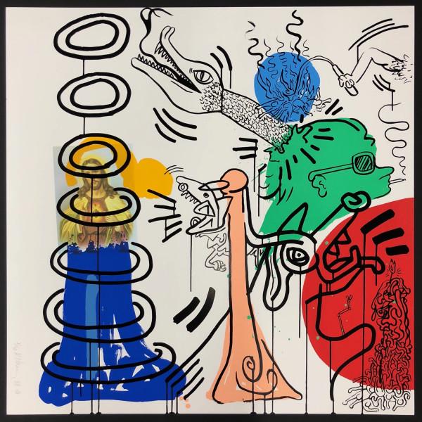 Keith Haring, Apocalypse No 5 *SOLD*, 1988