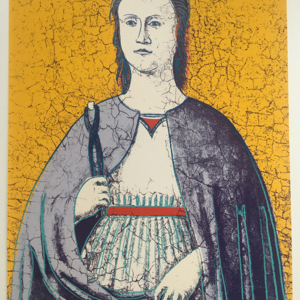 Andy Warhol, Saint Apollonia *SOLD*