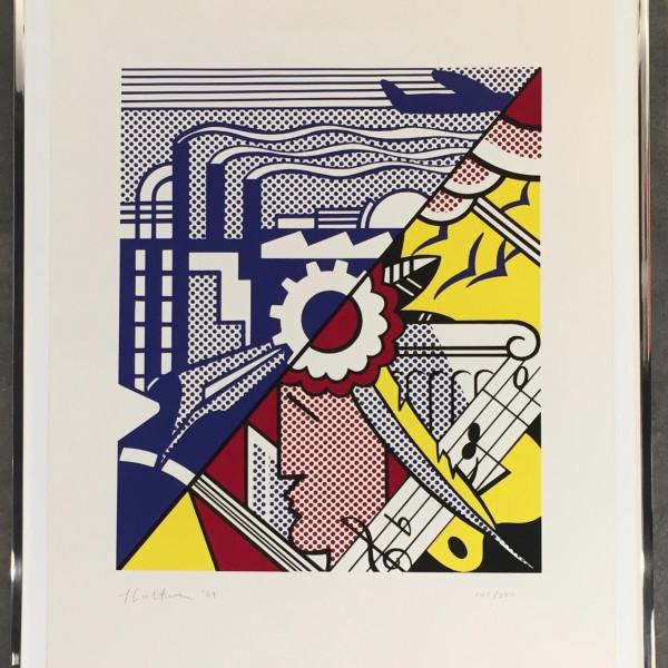 Roy Lichtenstein, Industry and Arts II