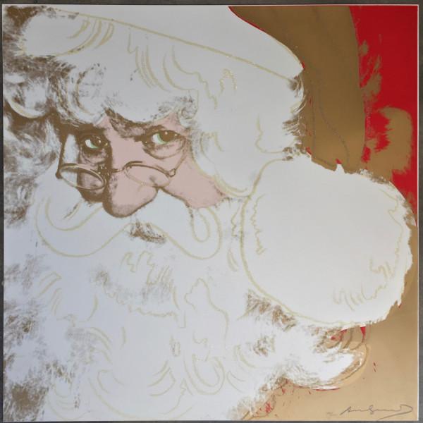 Andy Warhol, Santa Claus (Myths portfolio) F&S II.266, 1981