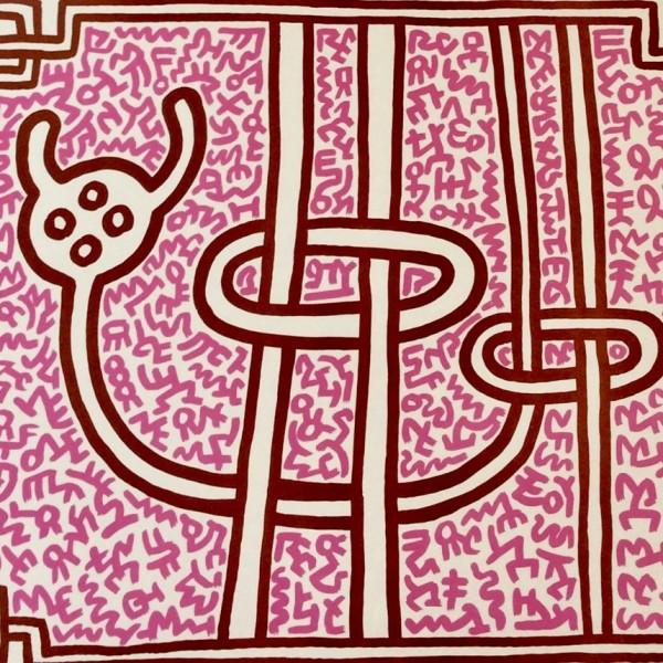 Keith Haring, Chocolat Buddah (No. 3), 1989