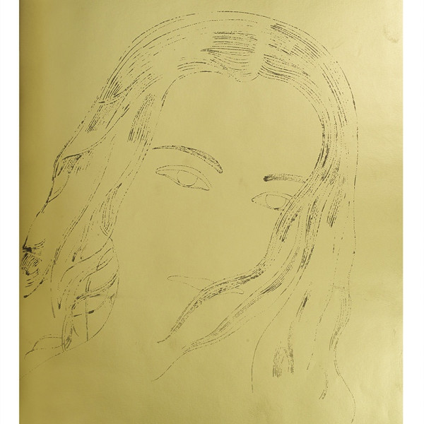 Andy Warhol, A Gold Book, IV.112, 1957