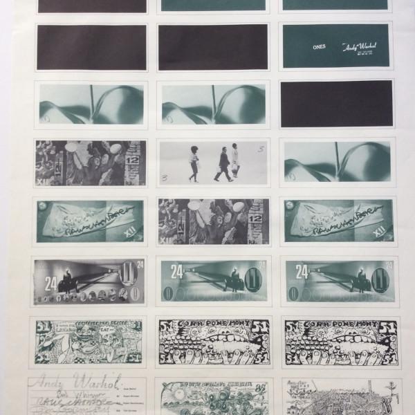 Andy Warhol, Art Cash, 1971