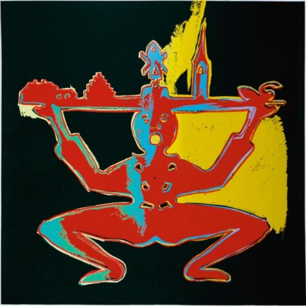 Andy Warhol, Hans Christian Andersen (Unique), 1987