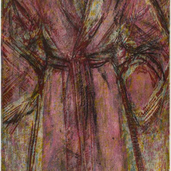 Jim Dine, Rosy Robe, 1998