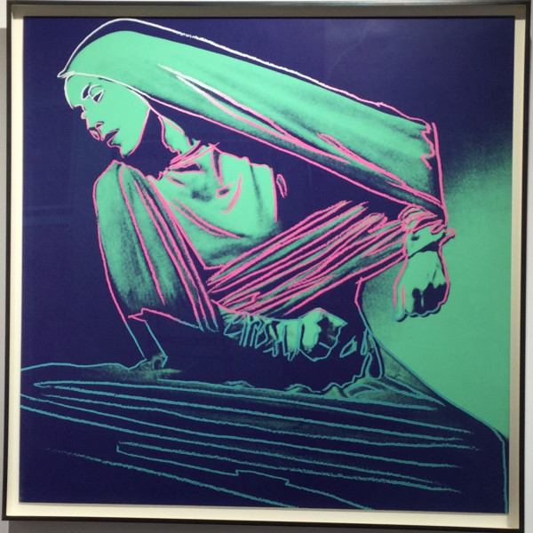Andy Warhol, Lamentation (unique trial proof from the Martha Graham suite) , 1986