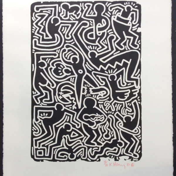 Keith Haring, Stones No. 5 *SOLD*, 1989