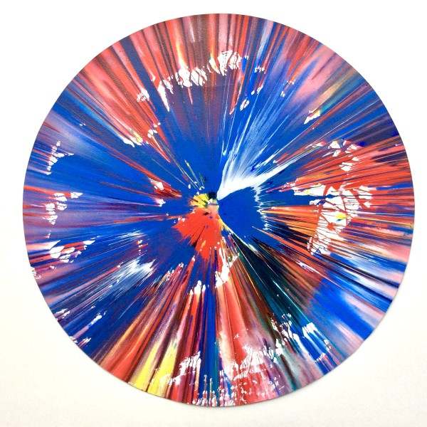 Damien Hirst, Original Spin Painting, SPOT *SOLD*, 2009