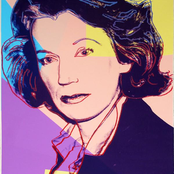 Andy Warhol, Mildred Scheel *SOLD*, 1980