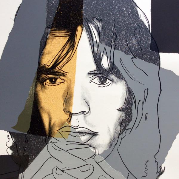 Andy Warhol, Mick Jagger *SOLD*, 1975