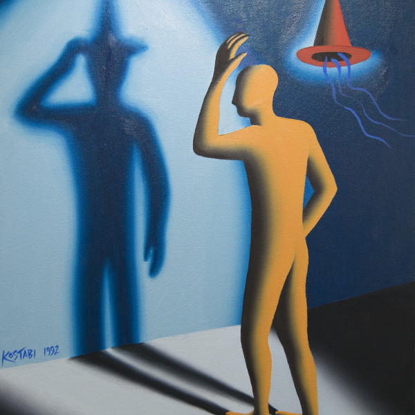 Mark Kostabi, Foreshadow, 1992