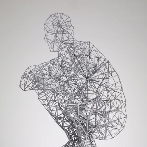 Antony Gormley - Exposure (Maquette), 2010