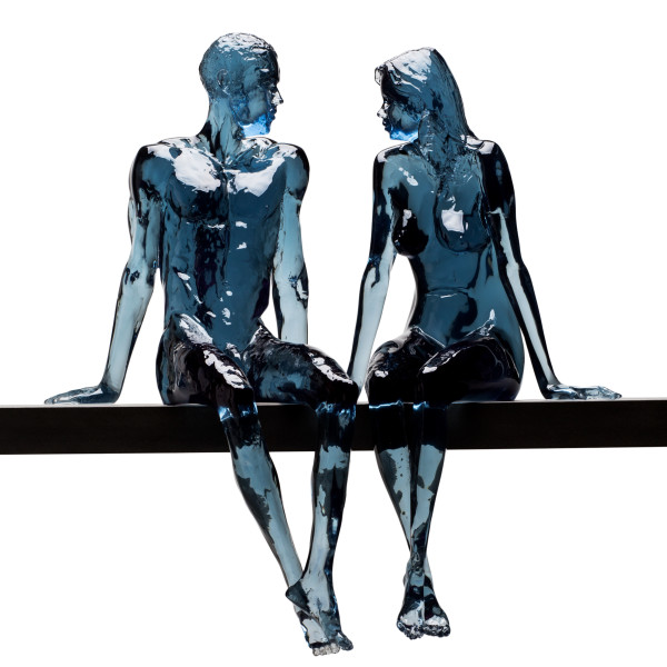 Bruce Denny - Resolute & Flirtatious (petrol blue)