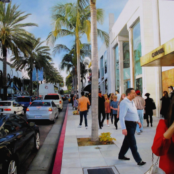 Romain E. - Shopping on Rodeo Drive
