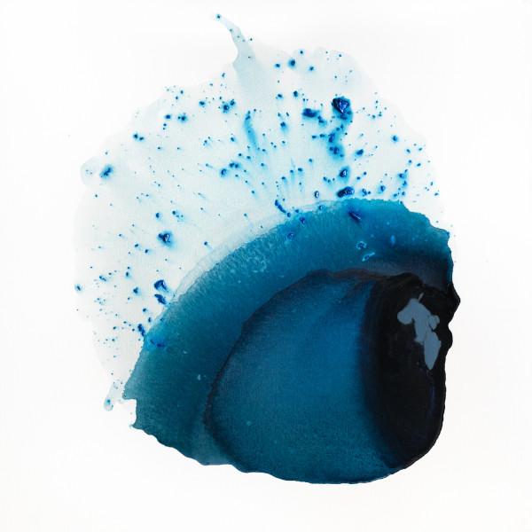 Clara Berta, Radiant Blue, 2017