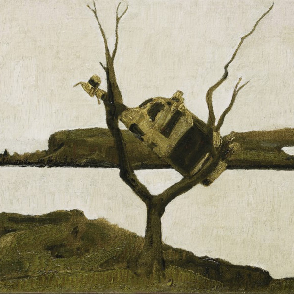 John Kelly - Cow up a Tree, South Reen II, 2017