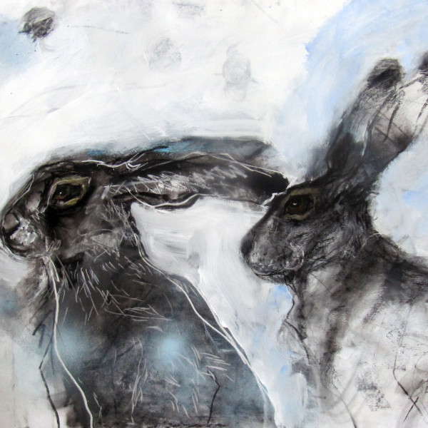 Margo Banks - Two Hares on the Watch