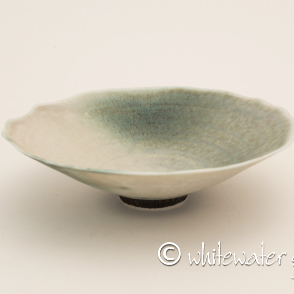 Hugh West, Dish with Chattered Base