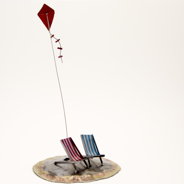 Kerry Whittle, Island, Kite and Two Chairs
