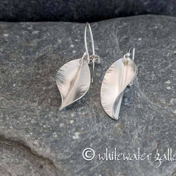 Marsha Drew, Riptide Small Leaf Drop Earrings
