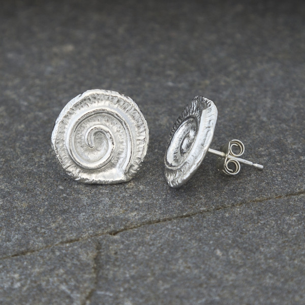 Marsha Drew, Textured Swirly Studs