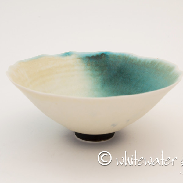 Hugh West, Bowl with Chattered Base