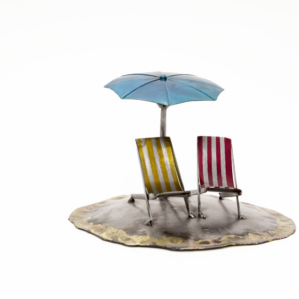 Kerry Whittle, Deck Chairs and Brolly