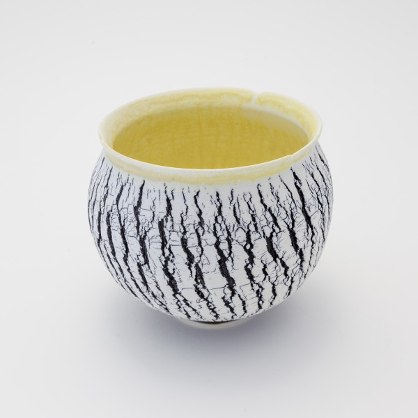 Hugh West - Black and White Buttermilk Bowl, 2018