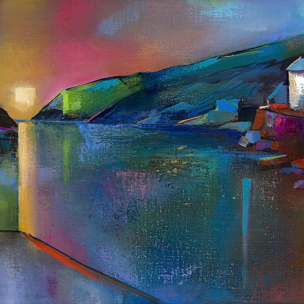 Suki Wapshott, Skyline, Port Quin - New Ltd Ed Print