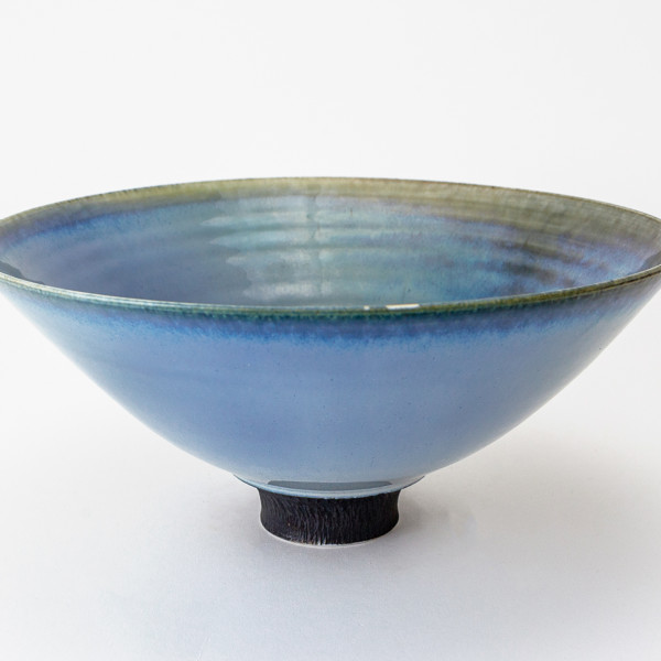 Hugh West, Blue Glaze Bowl
