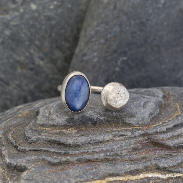 Marsha Drew, Pebble Ring with Kyanite