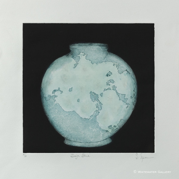 Sally Spens, Deja Blue - Artists Proof