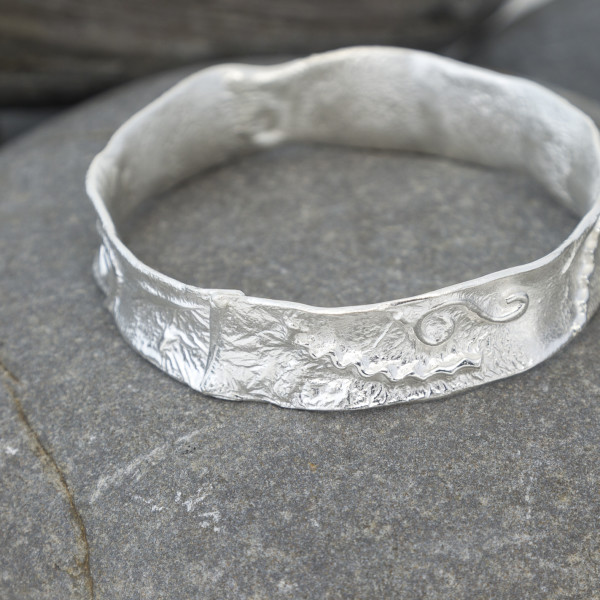 Marsha Drew, Textured Bangle