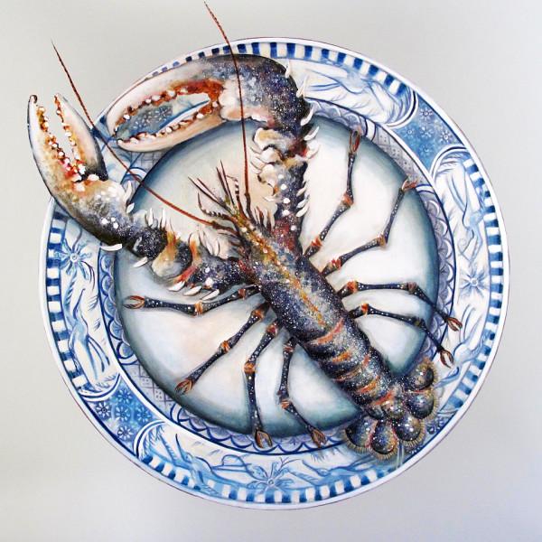 Caroline Cleave, Lobster on Plate